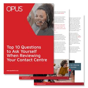 10 Contact Centre Questions