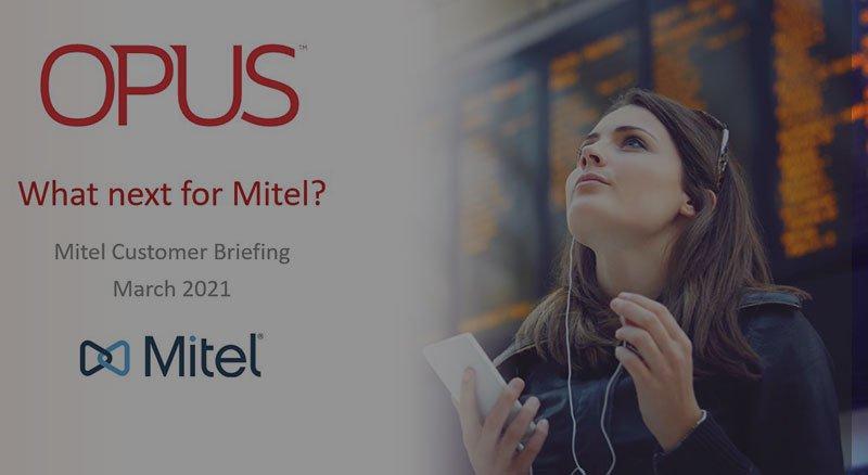 Mitel briefing