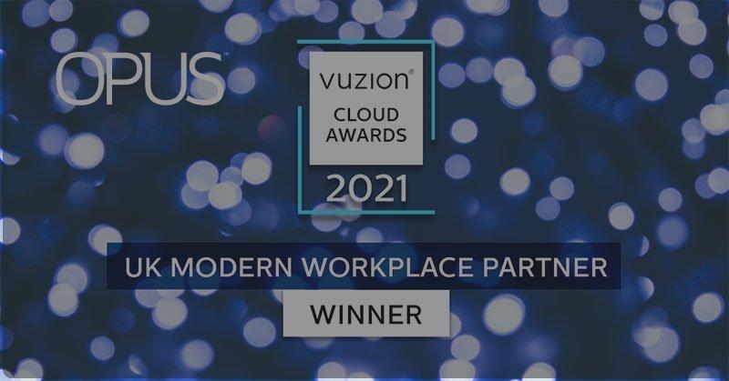 Vuzion cloud awards